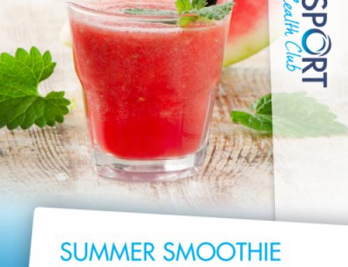 Nieuw: Summer smoothie